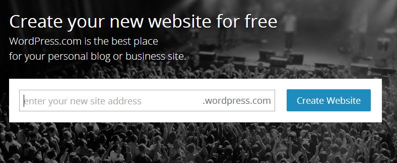 A Free WordPress Site, Why? Create Your New Website for Free with WordPress