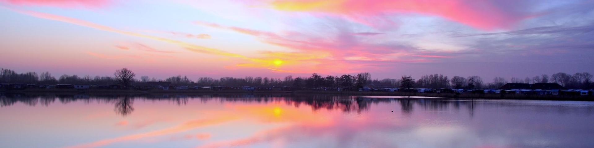 Where To Host WordPress Site Go Fishing Sunset Lake Colors - 2 - Optimized Featured Image