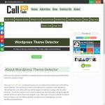 "callseotools.com/wordpress-theme-detector ""does not look like a WordPress Site"""
