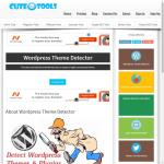"cuteseotools.net/wordpress-theme-detector ""does not look like a WordPress Site"" – (we) Optimize Your WordPress Site 
